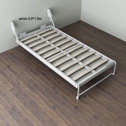 Custom multifunctional double folding murphy hidden wall beds pull out furniture bed WT-B01